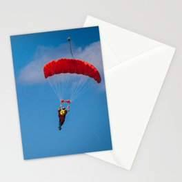 skydiving Stationery Cards