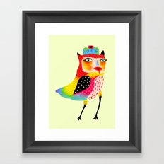All Eyes On Me Framed Art Print