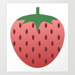 Strawberry Delight Art Print