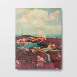 Those Pink Afternoons Metal Print