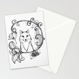 """The Magic Fox"" Magical Woodland Animals series 3 The Original Artwork Stationery Cards"