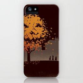 Halloween Tree iPhone Case