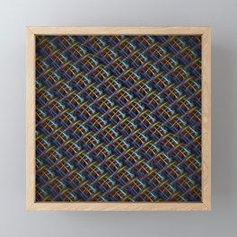 Fluro Fiber Framed Mini Art Print