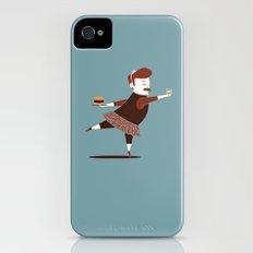 Libertarian Swan Slim Case iPhone (4, 4s)