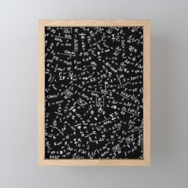 Equation Overload Framed Mini Art Print