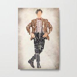 Eleventh Doctor Metal Print