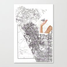 summer destination Canvas Print