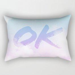 Summer Clouds OK Rectangular Pillow