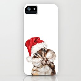 Christmas Squirrel iPhone Case
