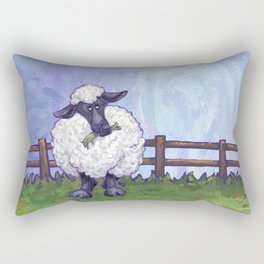 Animal Parade Sheep Rectangular Pillow