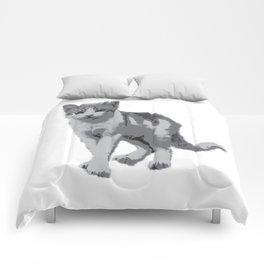 Grey room tiger Comforters