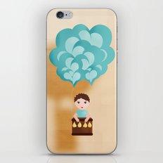 Flotando con mi imaginación iPhone & iPod Skin