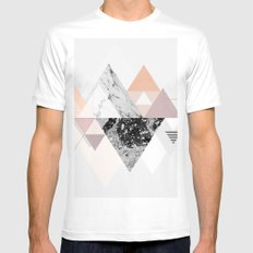 Graphic 110 MEDIUM White Mens Fitted Tee