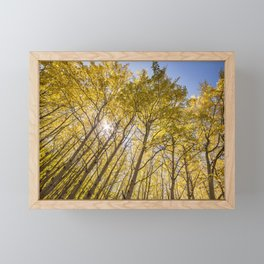 Sparkling Autumn Framed Mini Art Print