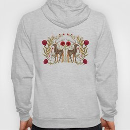 Two Stags Protecting The Dark Forest Gate Hoody