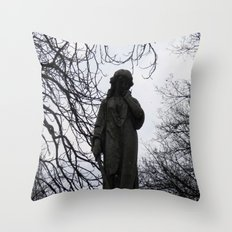 Idle Thoughts Throw Pillow