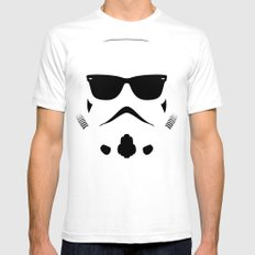Shadetrooper Mens Fitted Tee White MEDIUM