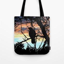 SUNSET BIRD Tote Bag