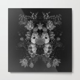 Botanical Darkness Metal Print