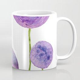 abstract purple onion flowers Coffee Mug