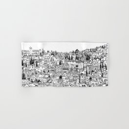 Albaicin View from the Alhambra, Granada, Spain Hand & Bath Towel