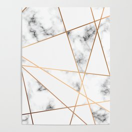 Marble Geometry 054 Poster
