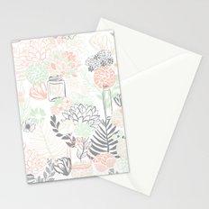 Cucumber Peaches and Cream Mason Jar wedding Stationery Cards
