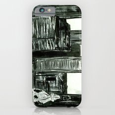Black and White Philly Skyline iPhone 6s Slim Case