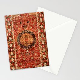 Seley 16th Century Antique Persian Carpet Print Stationery Cards