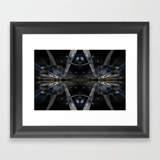 The Station Framed Art Print