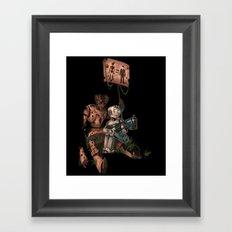 Seeds of Destruction Framed Art Print