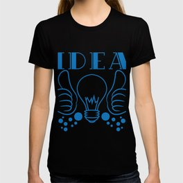 """""""Idea"""" tee design. Makes a nice gift to your creative and fabulous friend! Go get yours now!  T-shirt"""