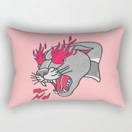 Panther Flame Rectangular Pillow