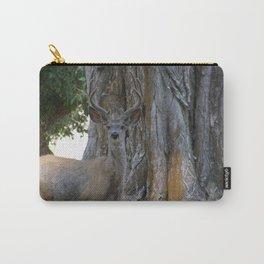 Mule-tail Deer, Buck in Velvet Carry-All Pouch