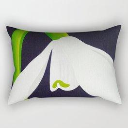 Le Perce-neige Rectangular Pillow