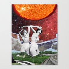 Judgement by Zabu Stewart Canvas Print