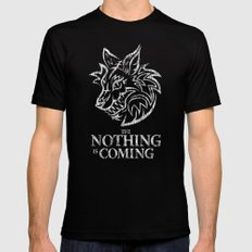 The Nothing is Coming  Black Mens Fitted Tee X-LARGE