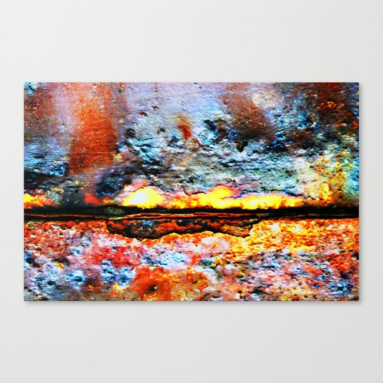 Something is Burning Canvas Print