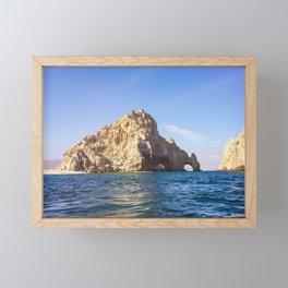 Lover's Beach in Baja Framed Mini Art Print