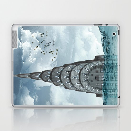 above the water line Laptop & iPad Skin