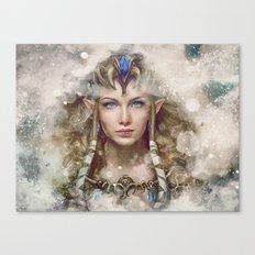 Epic Princess Zelda from Legend of Zelda Painting Canvas Print