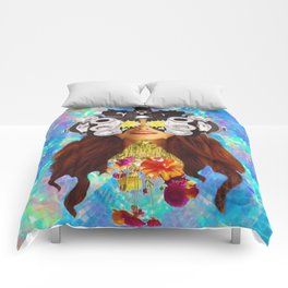 Sun-Eyed Girl Comforters