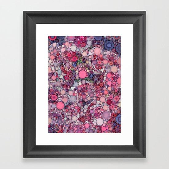 :: Pink Constellation :: Framed Art Print