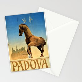 poster Padova Padua Italy ENIT Stationery Cards