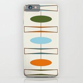 Mid-Century Modern Art 1.2 iPhone Case