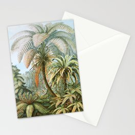 Vintage Fern and Palm Tree Art - Haeckel, 1904 Stationery Cards
