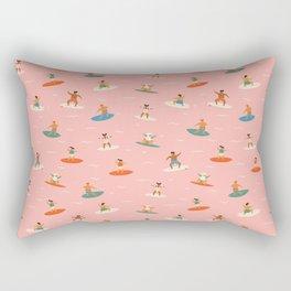 Surf kids Rectangular Pillow