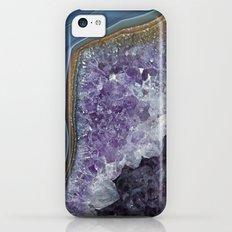 Amethyst Geode Agate Slim Case iPhone 5c