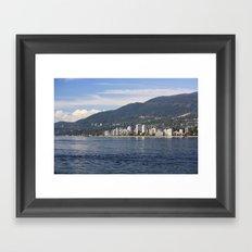 North Vancouver Framed Art Print