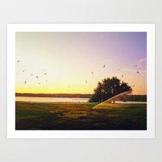 Sunrise Morning Art Print